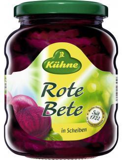 K�hne Rote Bete Scheiben  (220 g) - 4012200343128