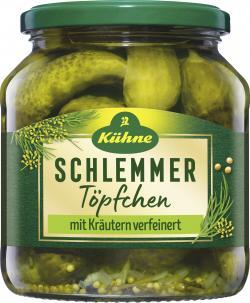 K�hne Schlemmert�pfchen feine G�rkchen  (300 g) - 4012200046654
