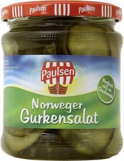 Paulsen Norweger Gurkensalat  (185 g) - 4009309622612