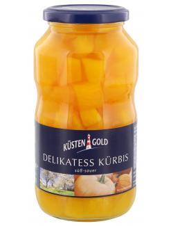 Küstengold Delikatess Kürbis süß-sauer  (400 g) - 4004899105071