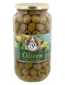 Royal del Sol Grüne Oliven ohne Stein  (400 g) - 4002239447706