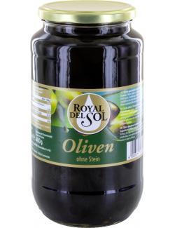 Royal del Sol geschw�rzte Oliven ohne Stein  (400 g) - 4002239448208