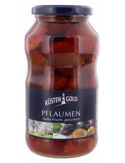 Küstengold Pflaumen halbe Frucht gezuckert  (385 g) - 4004899103077