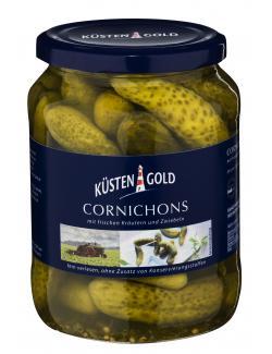 Küstengold Cornichons  (370 g) - 4003691005138