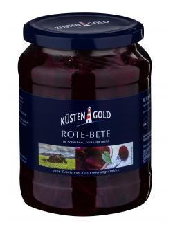 Küstengold Rote-Bete in Scheiben  (430 g) - 4003691005237