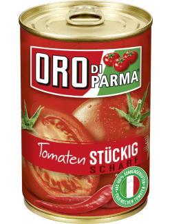 Oro di Parma Tomaten st�ckig-scharf  (400 g) - 4008100168480