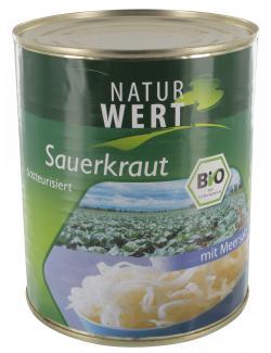 NaturWert Bio Sauerkraut  (770 g) - 4009309022573