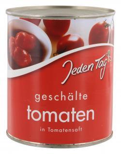 Jeden Tag Tomaten in Tomatensaft gesch�lt  (800 g) - 4000493910073