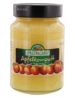 Spreewaldhof Apfelkompott mit St�cken gezuckert  (500 g) - 4012712002254