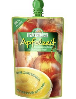 Spreewaldhof Apfelzeit Apfelmus ohne Zuckerzusatz  (350 g) - 4012712000342