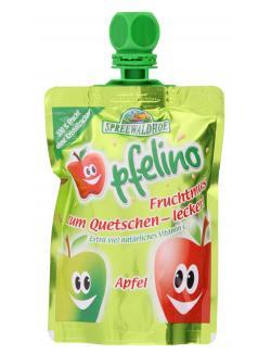 Spreewaldhof Apfelino Fruchtmus zum Quetschen Apfel  (100 g) - 4012712010341