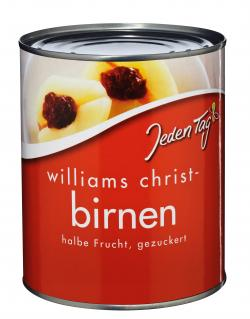 Jeden Tag Williams Christ Birnen  (460 g) - 4250548900133
