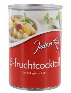 Jeden Tag 5-Fruchtcocktail leicht gezuckert  (250 g) - 4250548900072