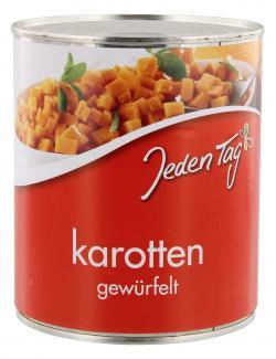 Jeden Tag Karotten gewürfelt  (530 g) - 4250548900393