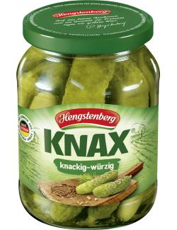 Hengstenberg Knax Gew�rzgurken knackig & w�rzig  (185 g) - 40081427