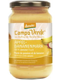 Demeter Campo Verde Bio Apfel-Bananenmark  (360 g) - 4045178002681