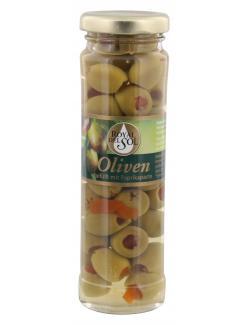Royal del Sol Grüne Oliven gefüllt mit Paprikapaste  (85 g) - 8410016005869
