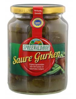 Spreewaldhof Saure Gurken  (370 g) - 4012712001981