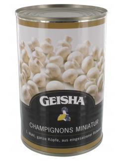 Geisha Champignons Miniatur ganze K�pfe 1.Wahl  (425 ml) - 4008558400378