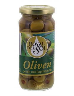 Royal del Sol Gr�ne Oliven gef�llt mit Paprikapaste  (135 g) - 4002239447300