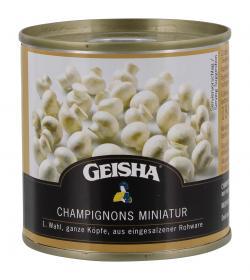 Geisha Champignons Miniatur ganze K�pfe 1.Wahl  (114 g) - 4008558400385