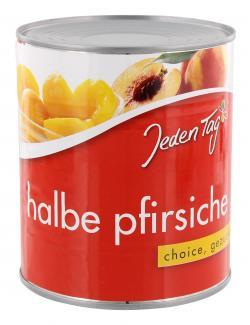 Jeden Tag Halbe Pfirsiche gezuckert  (480 g) - 4250548900010