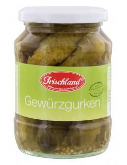 Frischland Gewürzgurken  (185 g) - 4001123221842