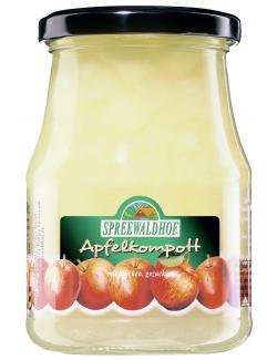 Spreewaldhof Apfelkompott mit Stücken gezuckert  (360 g) - 4012712000403