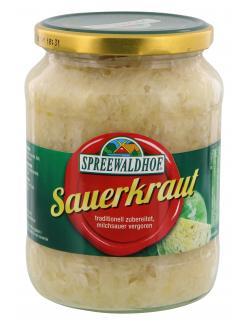 Spreewaldhof Sauerkraut  (650 g) - 4012712002995