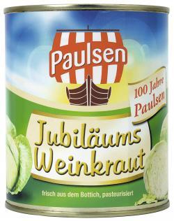 Paulsen Jubil�ums Weinkraut  (770 g) - 4009309031247