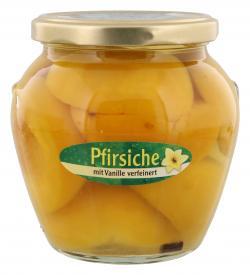 BelSun Pfirsiche mit Vanille verfeinert  (330 g) - 4002442810700