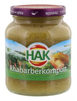 Hak Rhabarberkompott  (370 ml) - 8720600230103