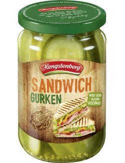 Hengstenberg Sandwich-Gurken  (185 g) - 4008100140547