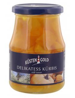 Küstengold Delikatess Kürbis süß-sauer  (200 g) - 4250426210040