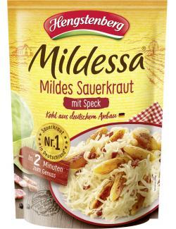 Hengstenberg Mildessa Sauerkraut mit Speck mild  (400 g) - 4008100154544