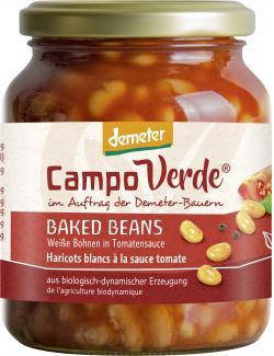 Demeter Campo Verde Wei�e Bohnen in Tomatenso�e  (350 g) - 4045178005491