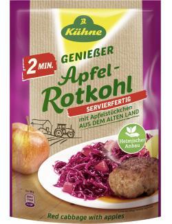 Kühne Apfel-Rotkohl fix & fertig mit Apfelstücken  (400 g) - 4012200463604