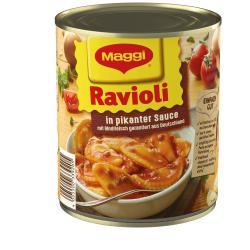 Maggi Ravioli in pikanter Sauce  (800 g) - 4005500339205