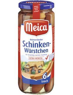 Meica Schinken-W�rstchen extra w�rzig  (6 x 41 g) - 4000503140001