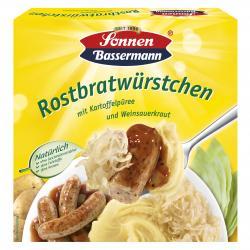 Sonnen Bassermann Meine Rostbratwürstchen mit Kartoffelpüree und Weinsauerkraut  (460 g) - 4002473756459
