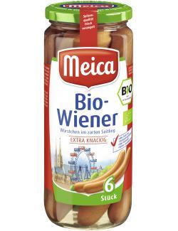 Meica Bio-Wiener im zarten Saitling  (250 g) - 4000503710006