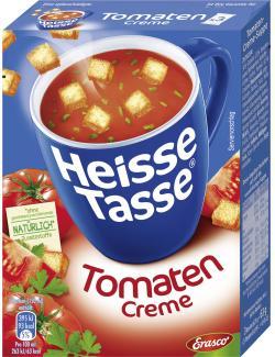 Erasco Heisse Tasse Tomaten-Creme-Suppe  - 4013300004742