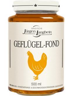 J�rgen Langbein Gefl�gel-Fond  (500 ml) - 4007680105335