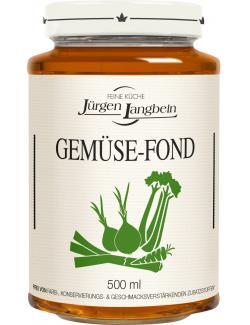 J�rgen Langbein Gem�se-Fond  (500 ml) - 4007680105359