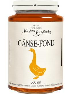 J�rgen Langbein G�nse-Fond  (500 ml) - 4007680105458