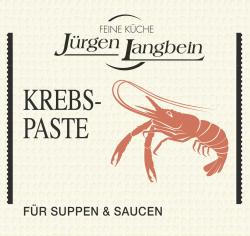 J�rgen Langbein Krebs-Paste  (50 g) - 4007680100019