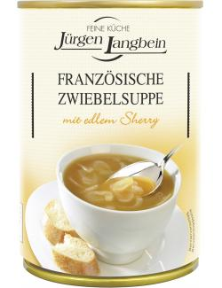 J�rgen Langbein Franz�sische Zwiebelsuppe  (400 ml) - 4007680103904