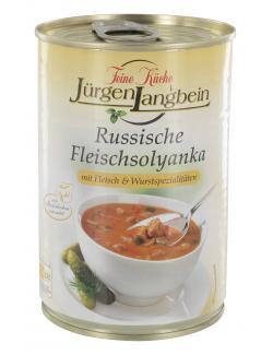 Jürgen Langbein Russische Fleischsolyanka  (400 ml) - 4007680103959