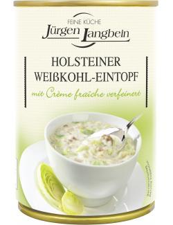 J�rgen Langbein Holsteiner Wei�kohl-Eintopf  (400 ml) - 4007680106004