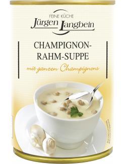 J�rgen Langbein Champignon-Rahm-Suppe  (400 ml) - 4007680103416